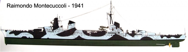 Incrociatore Montecuccoli- 1941.