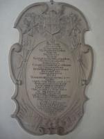 Lapide di Raimondo nella chiesa di Linz