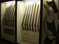 Fucili e armi turche della battaglia della Raab 1664