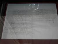 lettera di Raimondo Montecuccoli