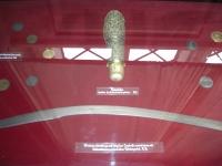 Porta polvere da sparo della battaglia della Raab 1664