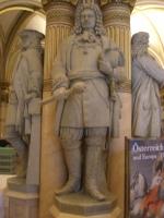 Heeresgeschictliches Museum di Vienna Statua di Raimondo Montecuccoli