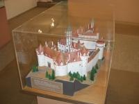 Modellino del Castello di Hohenegg residenza di Raimondo Montecuccoli in Austria.