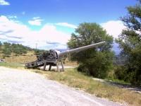 Incrociatore Montecuccoli Cannone da 152 - Perugia.