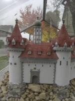 Secondo modellino del castello di Hohenegg - presso la chiesa di Hafnerbach