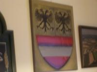 Lo stemma civico di Hafnerbach ricorda molto lo stemma Montecuccoli
