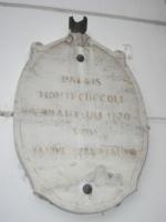 St. Polten Palazzo Montecuccoli - Targa