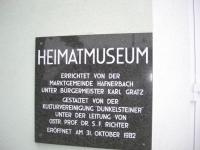 Targa del Museo
