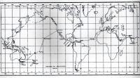 Itinerario dell'Incrociatore, anni 1956/57.