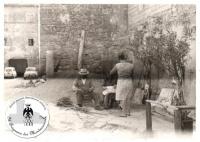 Il borgo di Montecuccolo nei primi anni '50