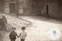 Il borgo di Montecuccolo negl'anni '60