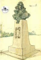 Raimondo Montecuccoli - Bozzetto Graziosi 1909