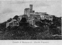 """Prima del 1878 """"La più antica fotografia del Castello di Montecuccolo"""""""