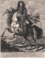 (post 1668) Raimondo Montecuccoli - Ritratto Equestre